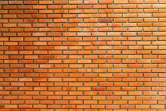 Ściana z cegieł tekstura na nieociosanym tle Obraz Royalty Free