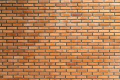 Ściana z cegieł tekstura na nieociosanym tle Fotografia Royalty Free