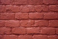 Ściana z cegieł, tekstura, tło. Obrazy Stock