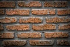 Ściana z cegieł tekstura, tło Obraz Royalty Free