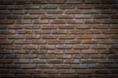Ściana z cegieł tekstura, tło Obrazy Royalty Free