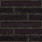 Ściana z cegieł tekstury tła cgi bezszwowy zmrok ilustracji
