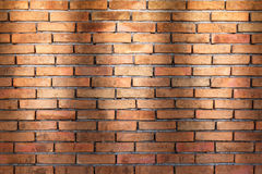 Ściana z cegieł tekstury tło dla wnętrza lub zewnętrznego projekta Zdjęcia Stock
