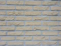 Ściana z cegieł tekstury tapety zbliżenie Fotografia Stock