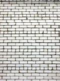 Ściana z cegieł w świetle dziennym. Obraz Royalty Free