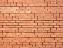 Ściana z cegieł w świetle dziennym. Zdjęcia Stock