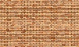 Ściana z cegieł wysoka rozdzielczość bezszwowa tekstura Fotografia Stock