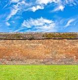 Ściana z cegieł wzór Zdjęcia Stock