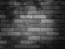 Ściana z cegieł wzór w ciemnego czerni kolorze zdjęcie royalty free