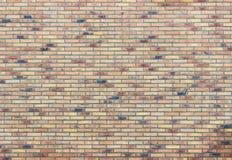 Ściana z cegieł z kilka barwi obraz royalty free