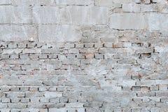 Ściana z cegieł z renderingu żakietem Fotografia Stock