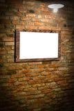 Ściana z fotografii ramą Zdjęcie Stock