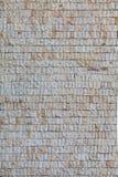 Ściana z małymi popielatymi granit płytkami Fotografia Royalty Free