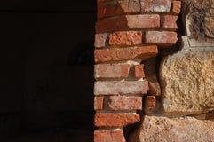 Ściana z płytkami Obrazy Stock