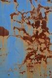 Ściana z rdzą Fotografia Stock