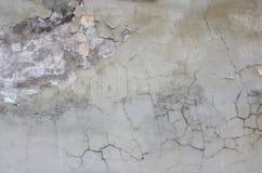 Ściana z Uszkadzającym tynkiem Zdjęcie Royalty Free