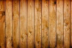 Ściana zakrywająca z brown grunge drewnianymi deskami - naturalny backgroun Obraz Royalty Free