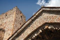 Ściany Ananuri kompleks zdjęcie royalty free