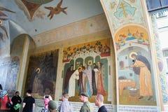 Ściany malować ikony Zdjęcia Stock