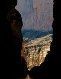 Ściany Santa Elena jar i rio grande, Duży chyłu park narodowy, Teksas Zdjęcie Royalty Free