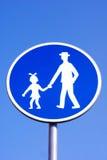 ścieżek pedestrians Obraz Royalty Free