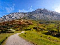 Ścieżka anboto góra Zdjęcia Stock