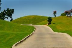 ścieżka do golfa wózków Fotografia Stock