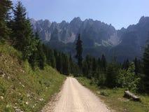 Ścieżka góry Zdjęcie Royalty Free