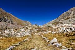 Ścieżka kołnierz śmiertelny mężczyzna, Włochy zdjęcia stock