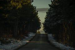 Ścieżka mieć_nadzieja Obraz Royalty Free