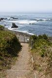 Ścieżka morze Zdjęcia Stock