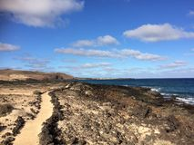 Ścieżka morzem Obraz Royalty Free