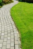 ścieżka ogrodniczego kamień Fotografia Royalty Free