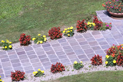ścieżka ogrodowa obrazy stock