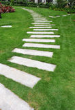 ścieżka ogrodowy kamień Zdjęcia Royalty Free