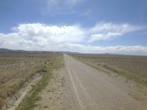 Ścieżka piasek Zdjęcia Royalty Free