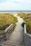 ścieżka plażowa obrazy royalty free