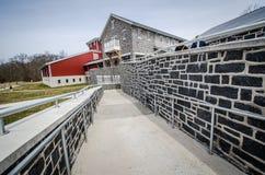 Ścieżka prowadzi Gettysburg goście centrum Zdjęcia Stock