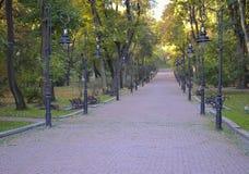 Ścieżka przy parkiem Zdjęcie Stock