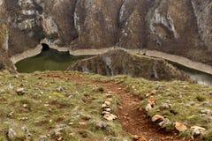 Ścieżka rzeczny meander zdjęcia royalty free