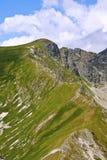 ścieżka szczyt Zdjęcia Royalty Free