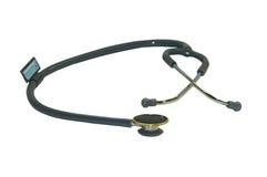 ścieżka TARGET2222_1_ odosobniony stetoskop Obrazy Royalty Free