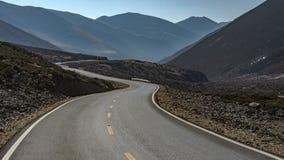 Ścieżka w dolinie miejscowego wezwanie ja Droga Shambhala Fotografia Royalty Free