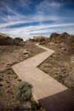 Ścieżka w nakrętce De Creus Zdjęcie Royalty Free