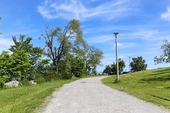 Ścieżka w parku obrazy royalty free