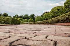 ścieżka w Tajlandia ogródzie zdjęcie royalty free