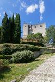 Ścieżka wycieczka turysyczna De Grzebień zdjęcia royalty free