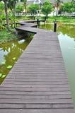 ścieżki drewno Fotografia Royalty Free