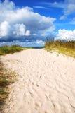 ścieżki morze Zdjęcia Stock