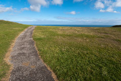 ścieżki morze Obraz Royalty Free
